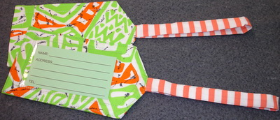 free pattern for quilted luggage tags cafca info for