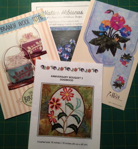 I have a collection of applique patterns waiting to their turn to become the project of the year.