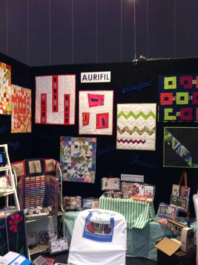 Our Modern Quilt Display